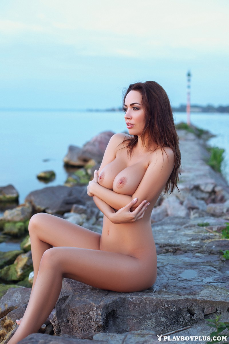 adrienn-levai-nude-lake-dusk-playboy-16