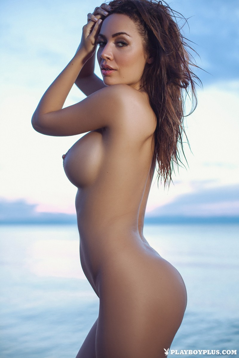 adrienn-levai-nude-lake-dusk-playboy-20