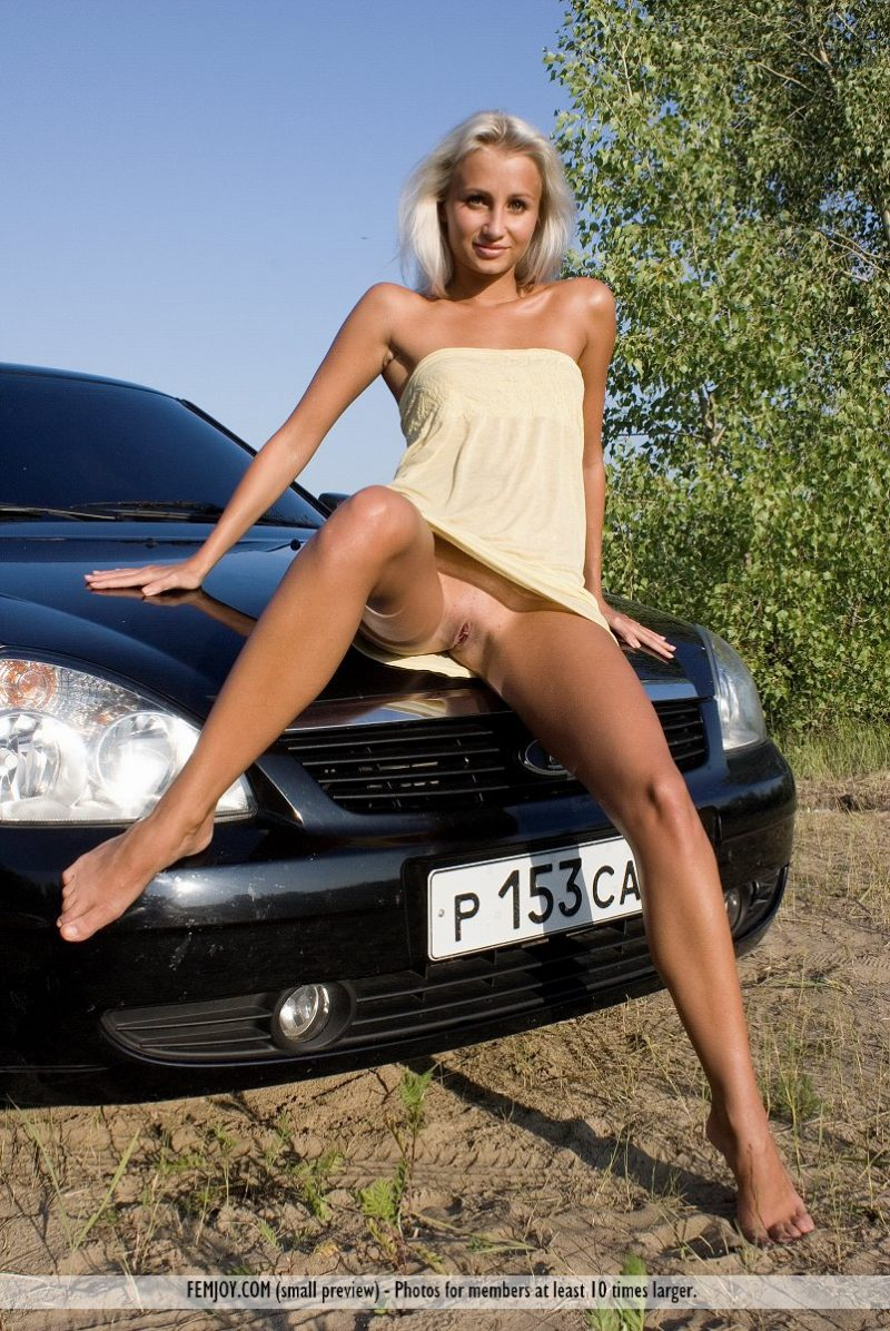Wife hot women nude on cars