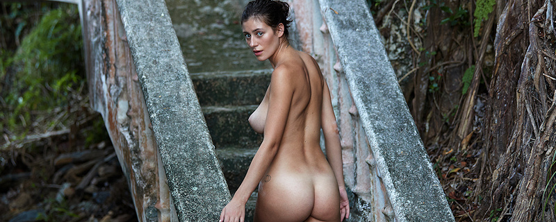 Alejandra Guilmant for Treats Magazine by David Bellemere