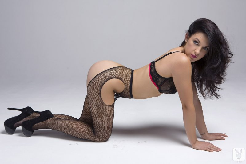 alessandra-iltis-nude-fishnet-pantyhose-playboy-09