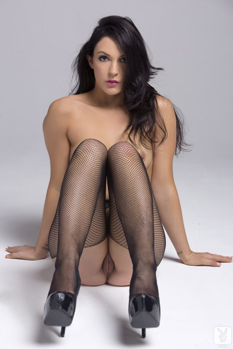 alessandra-iltis-nude-fishnet-pantyhose-playboy-10