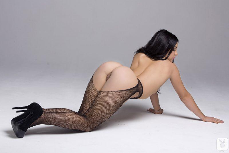 alessandra-iltis-nude-fishnet-pantyhose-playboy-18