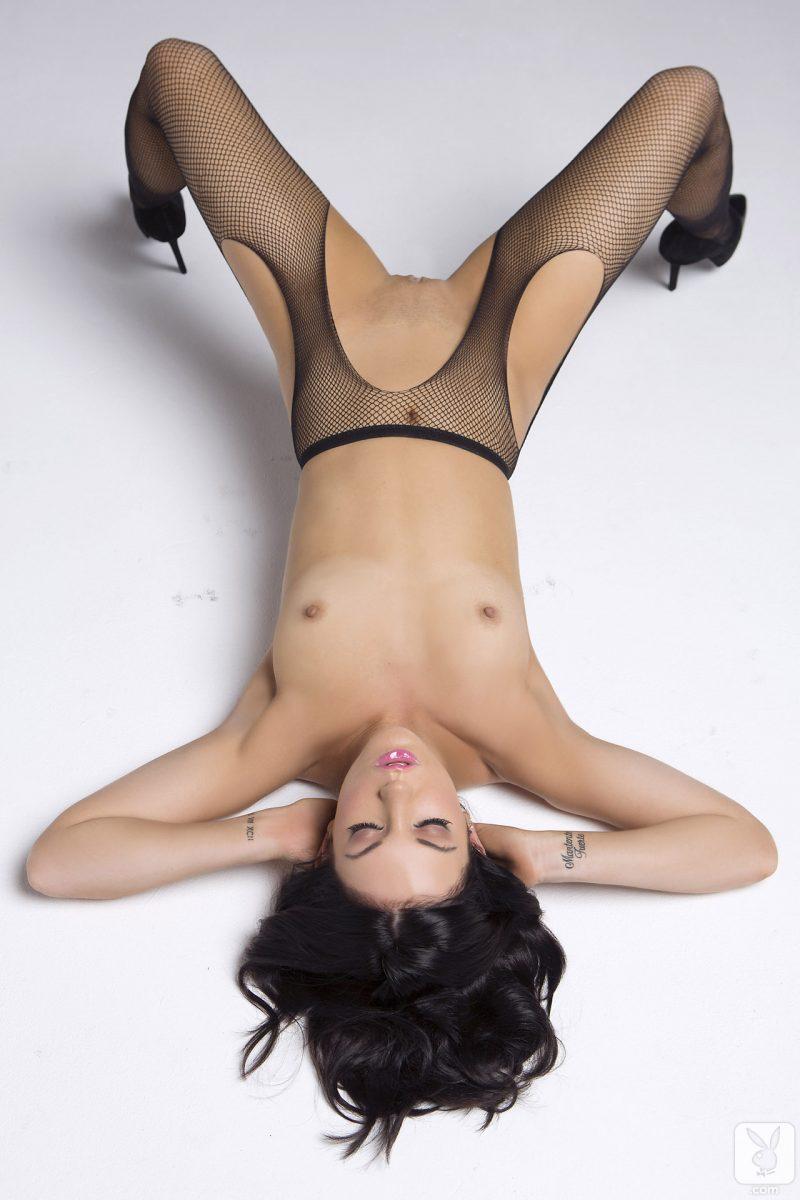 alessandra-iltis-nude-fishnet-pantyhose-playboy-22