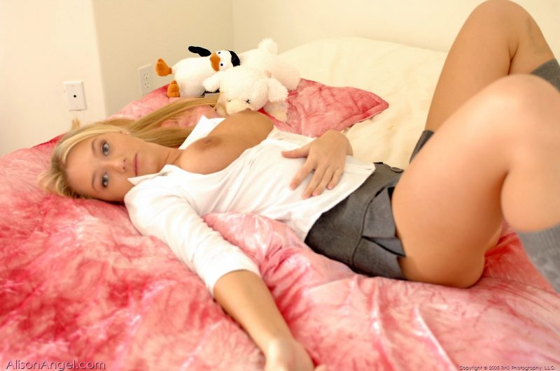 alison-angel-schoolgirl-grey-socks-nude-34