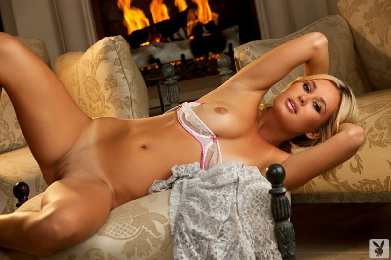 amber-hay-fireplace-playboy-11