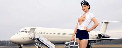 Andreja Karba – Slovenian stewardess