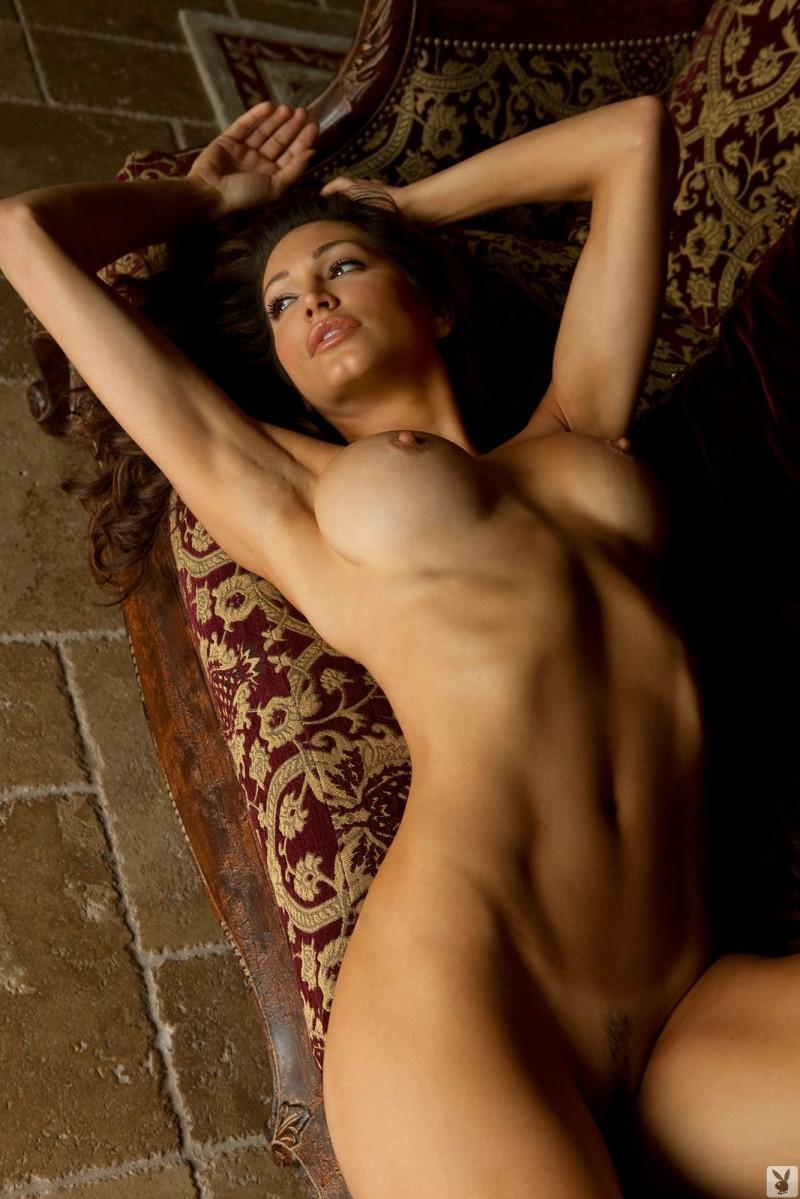Naked italian model