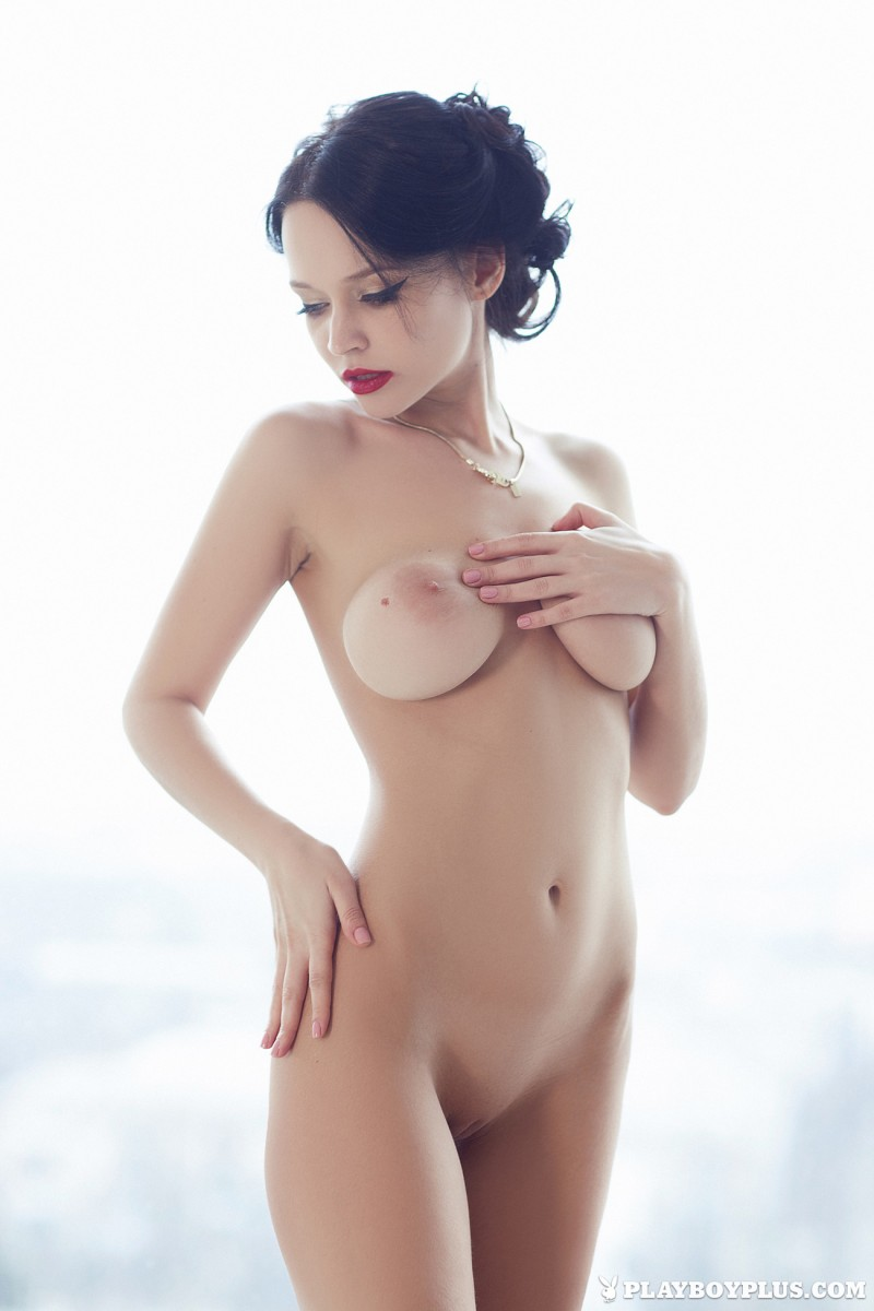 angie-brunette-bathroom-playboy-13