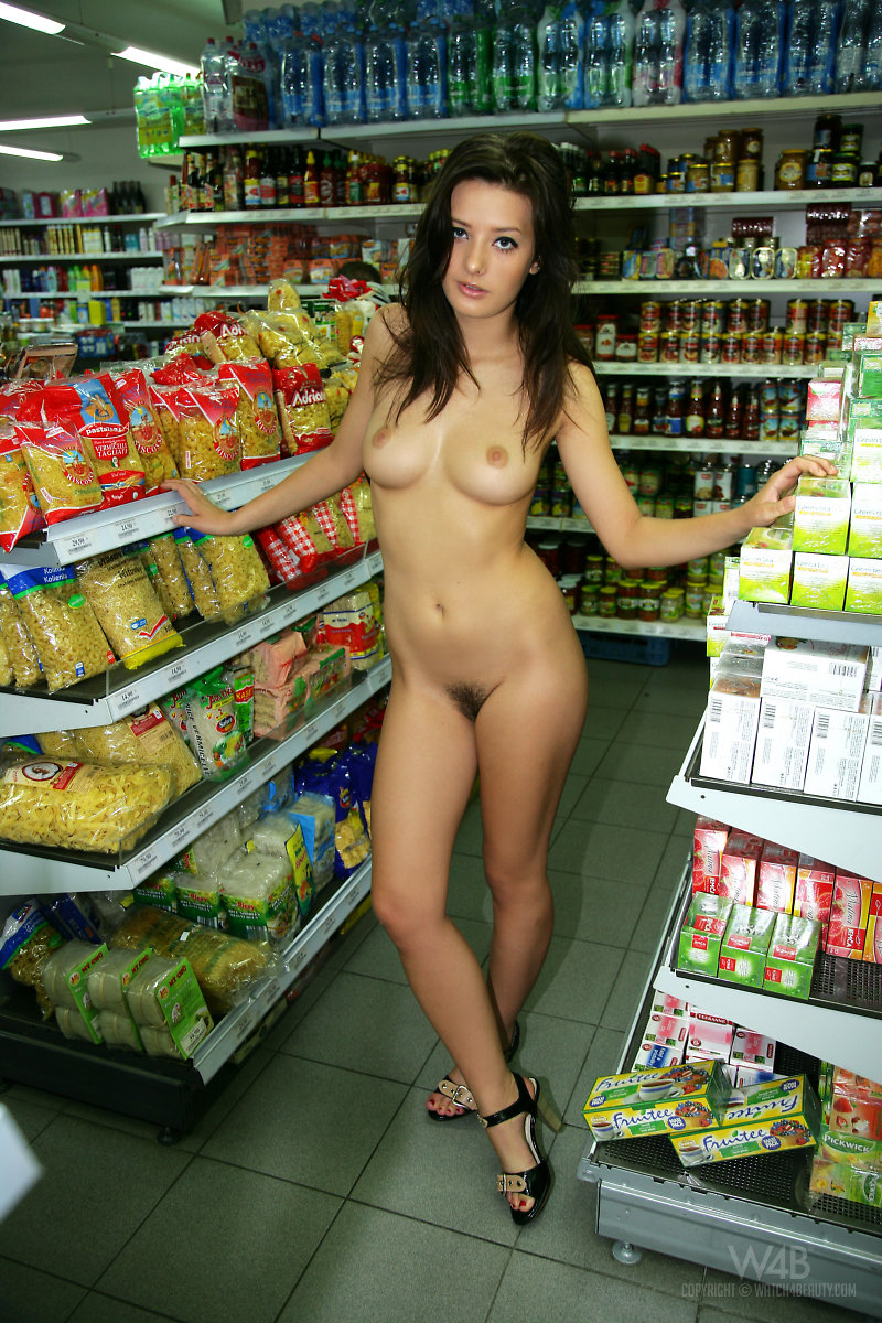 Topic, Nude women public store have