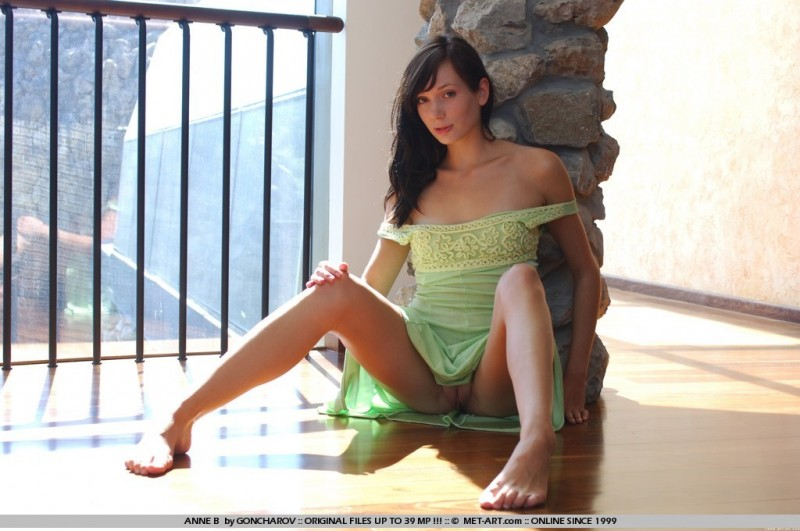 anne-b-pistachio-dress-nude-metart-13
