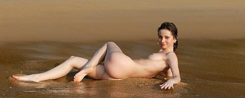 Anya at the seaside