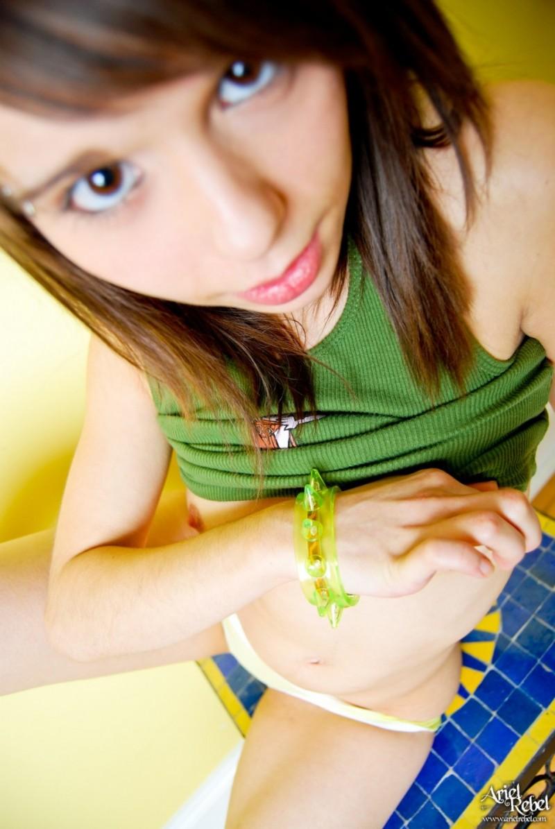 ariel-rebel-green-shirt-nude-09
