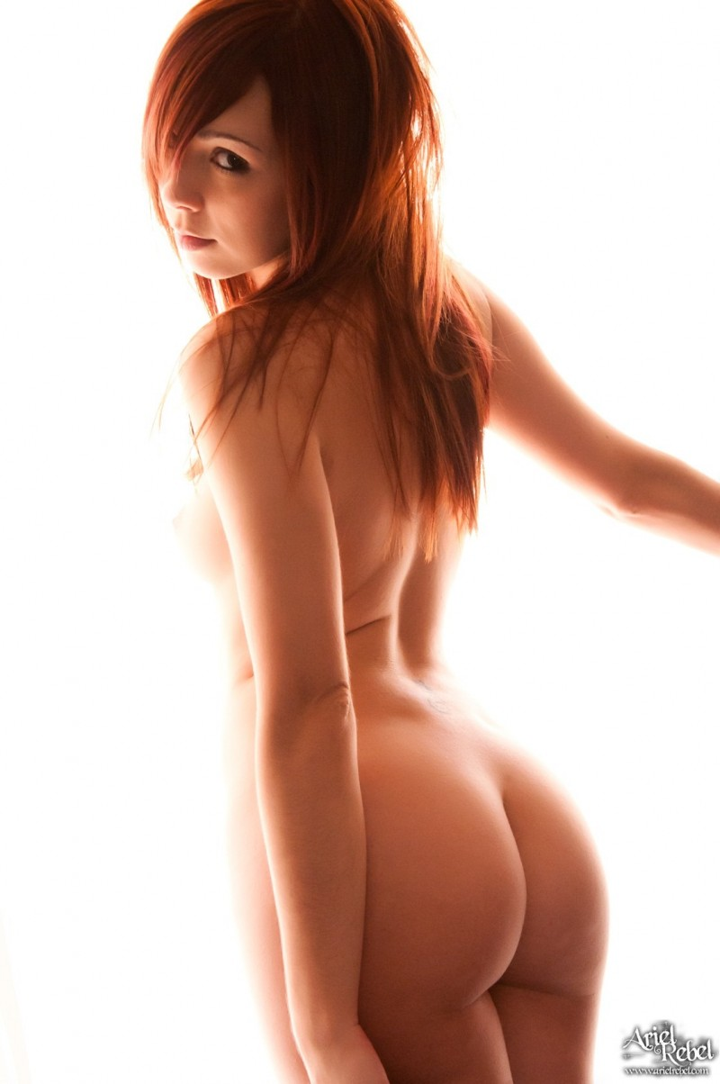 Hot redhead girls naked ariel