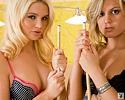 alexis-ford-&-ashlyn-letizzia-pool-play-playboy