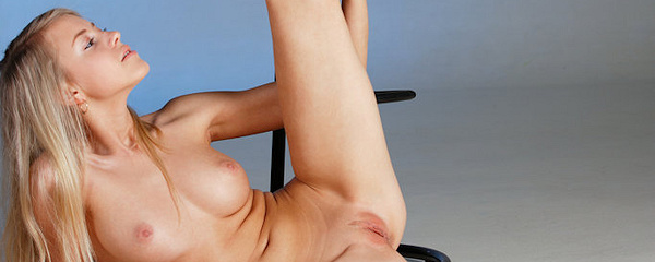 Barbara D on bar stool