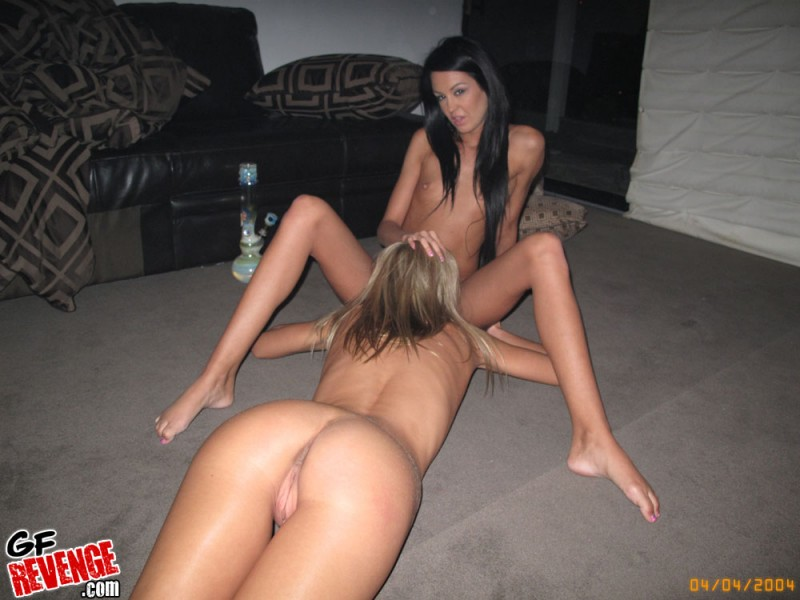 Two horny lesbian asians wrecked pussy 9