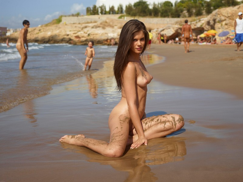 Fantastic Caprice nude beach something