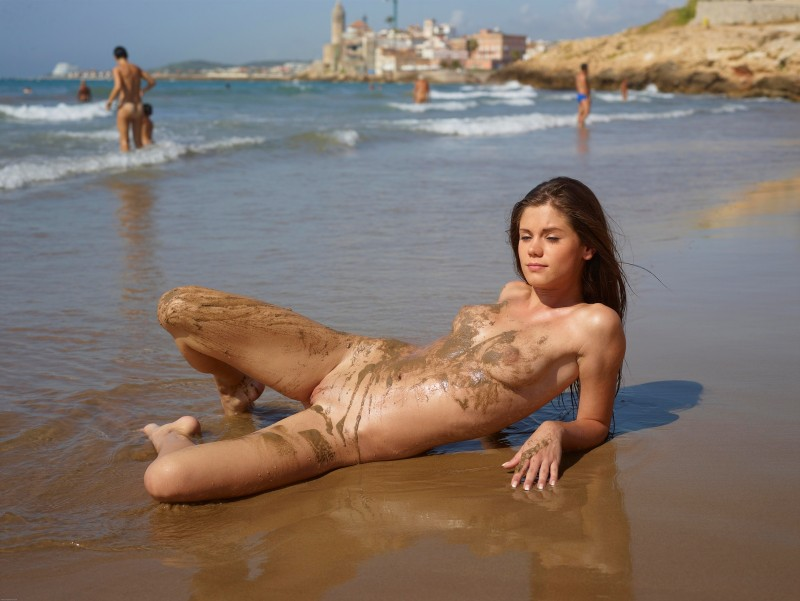 Improbable! Caprice nude beach curious