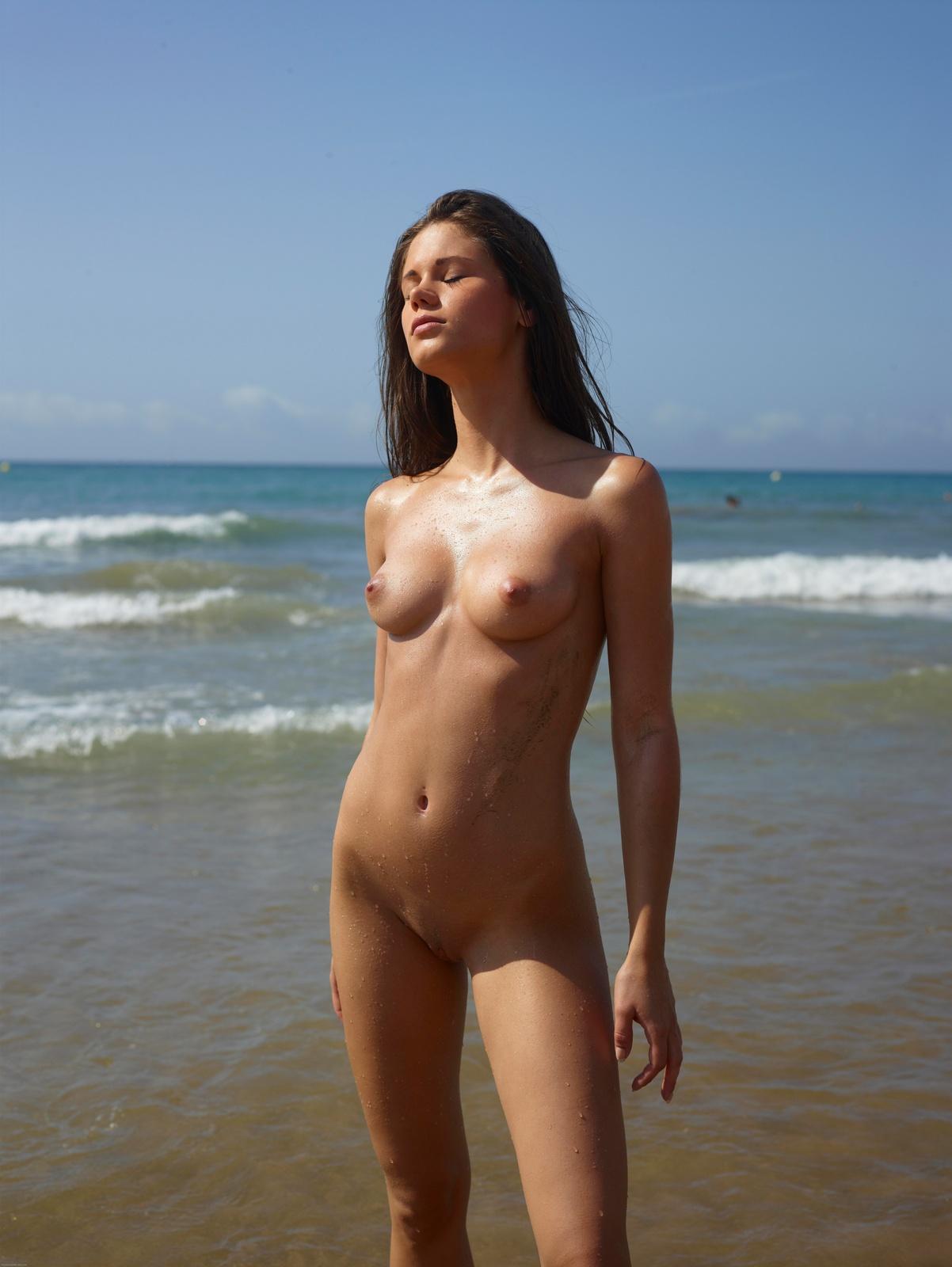 gallery   caprice on the nudist beach