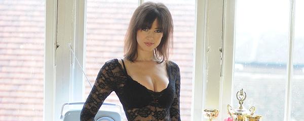Carole Hunt – Bodysuit & pantyhose