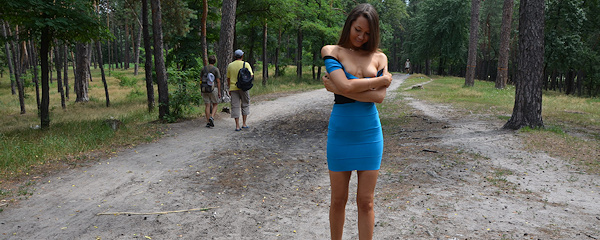 Carolina flashing in park vol.2