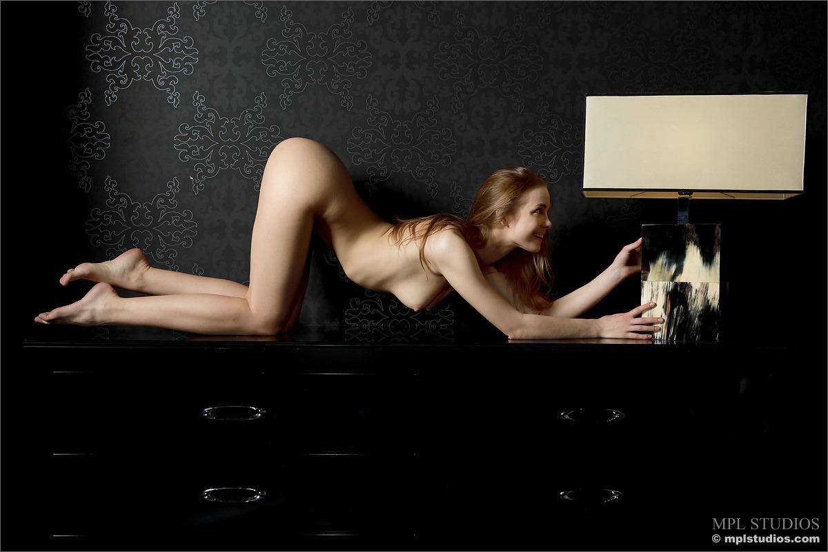 carolina-bottomless-nude-checkere-shirt-mplstudios-15