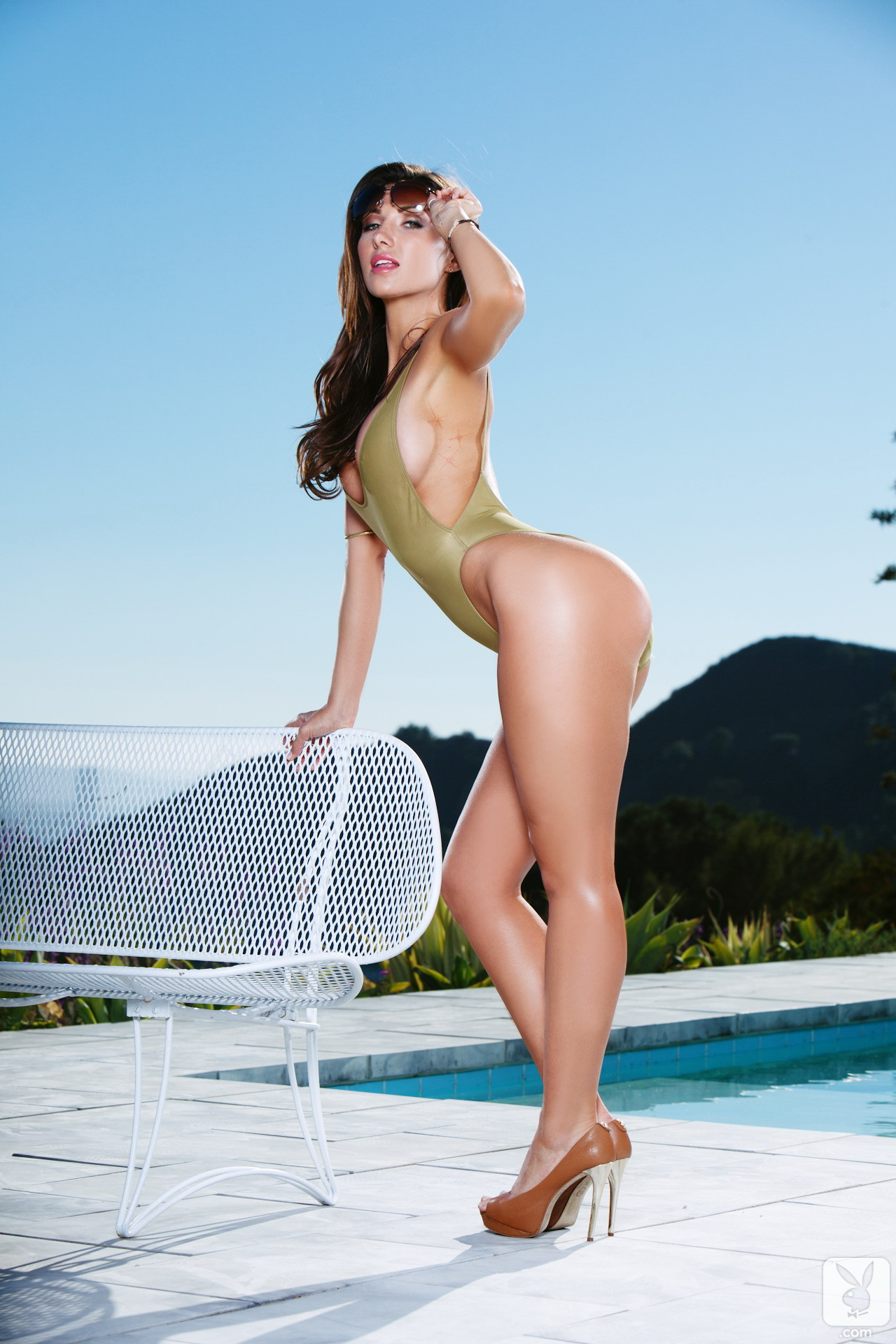 Casey connelly pool playboy 04 RedBust