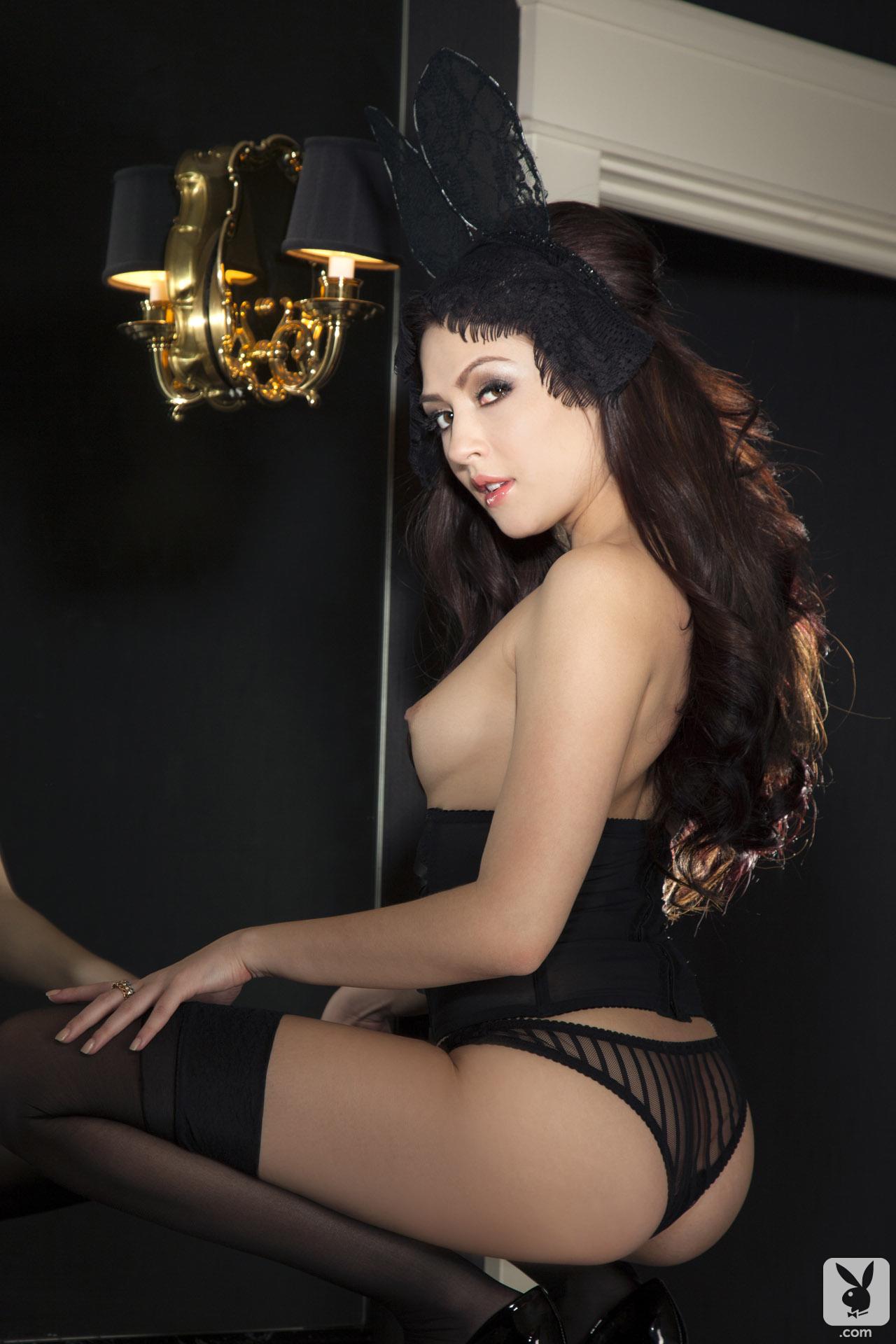 topless Playboy bunny