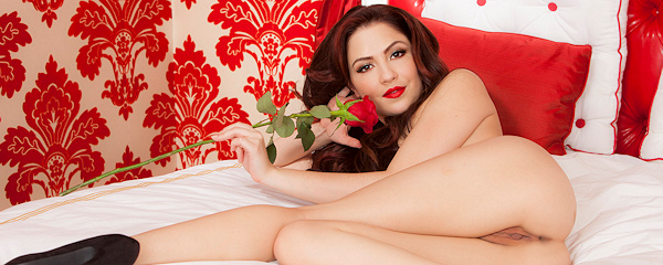 Cassie Laine – Red rose