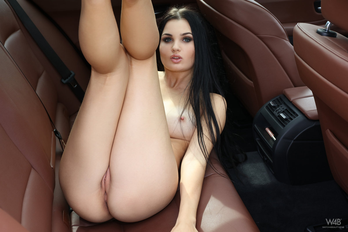 Truck back seat girls naked