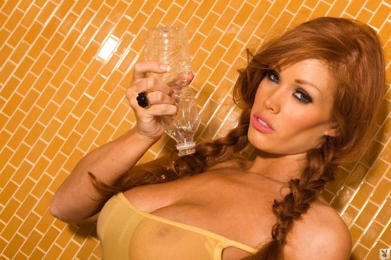 christine-smith-shower-busty-readhead-playboy-10