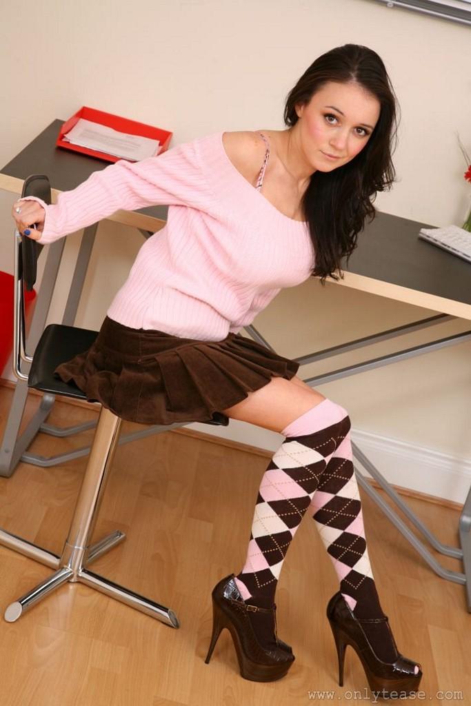 clair-meek-socks-pink-sweater-boobs-onlytease-05