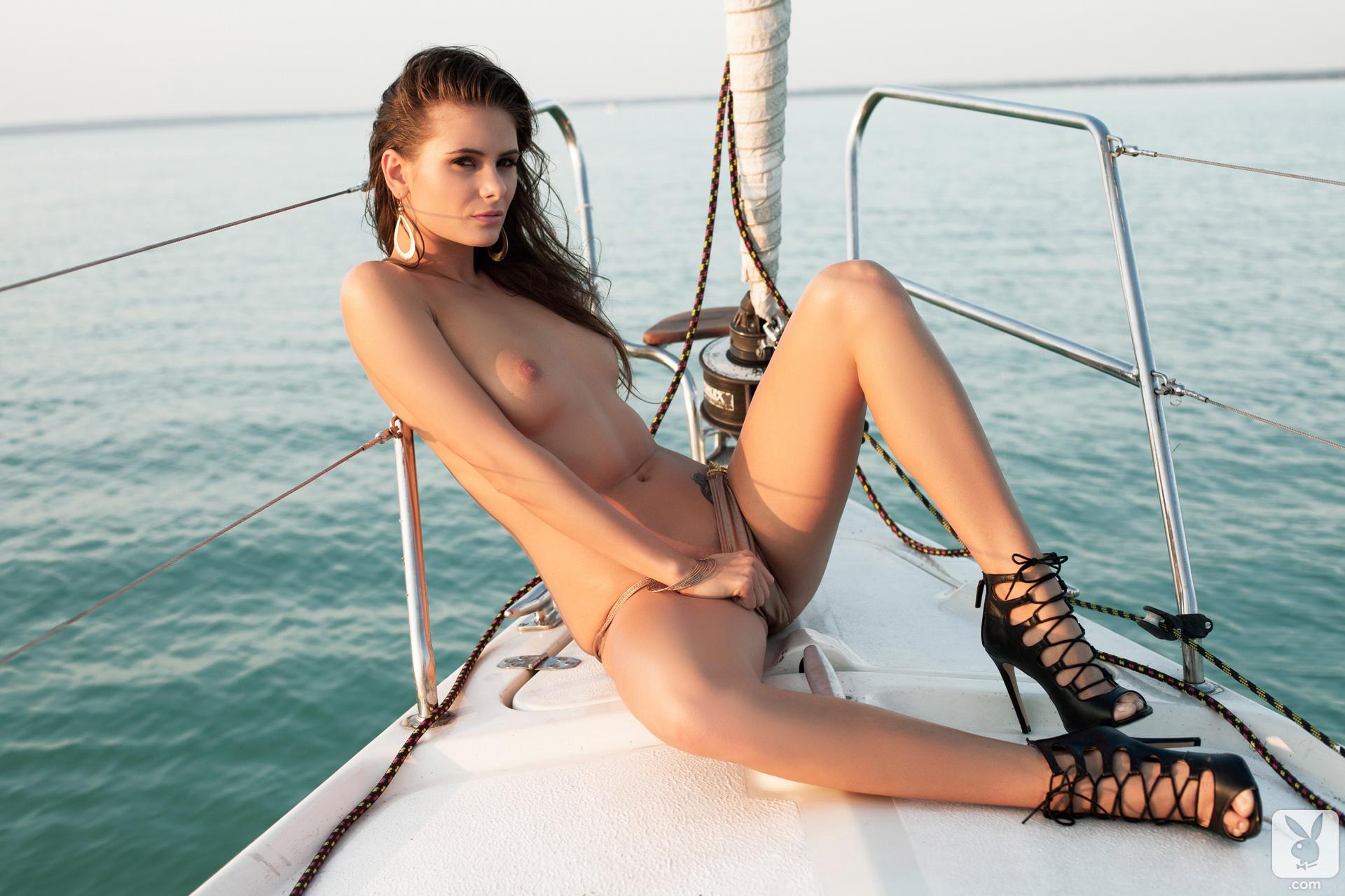 Naked On A Yacht