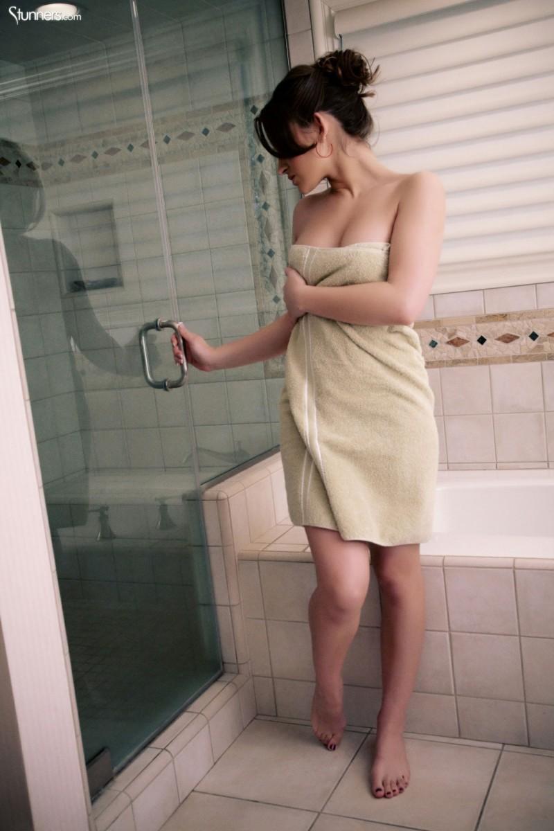 young irish teen stripping