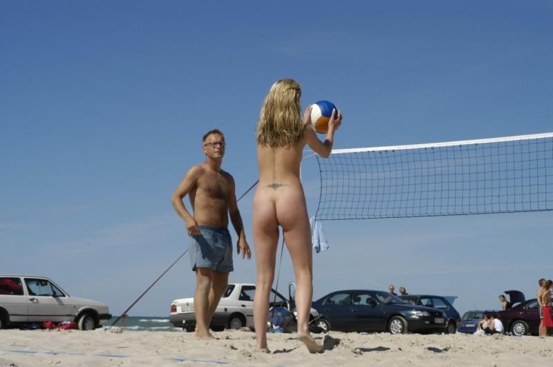 danish nudists at the beach