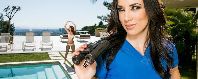 Dillion Harper & Jelena Jensen – Professional masseuse