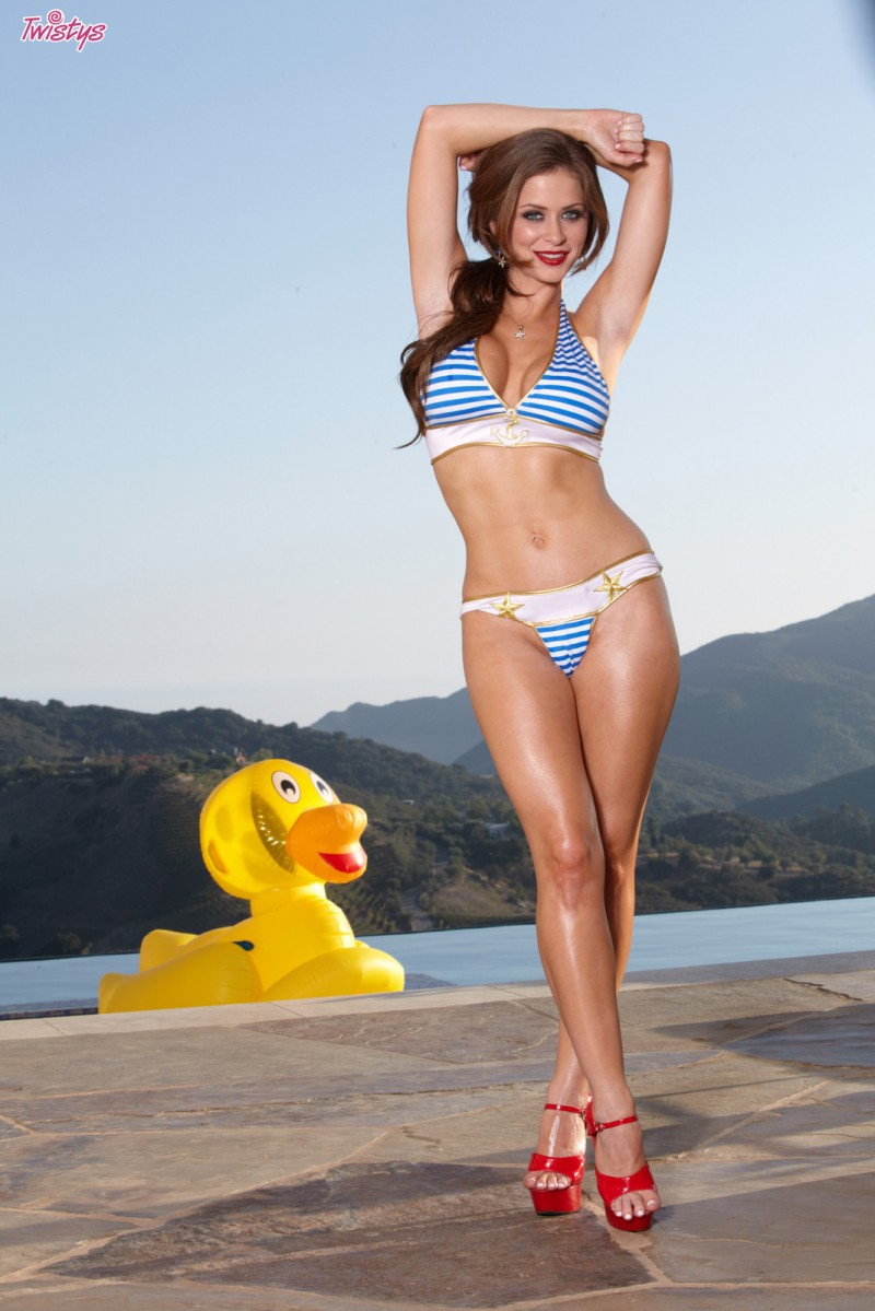 Emily Addison Big Yellow Duck Redbust