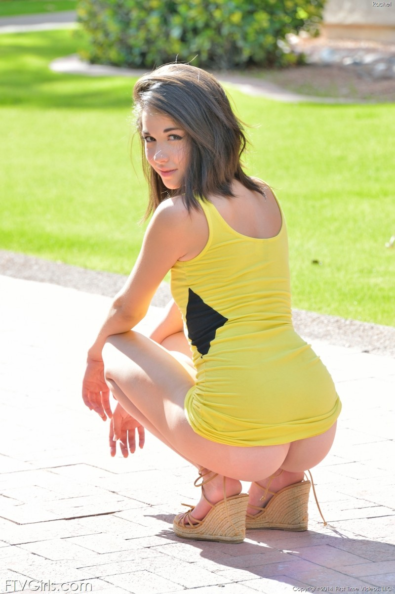 rachel-flash-public-yellow-dress-ftvgirls-06