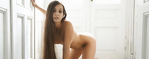 Ennie Cailess naked on the floor
