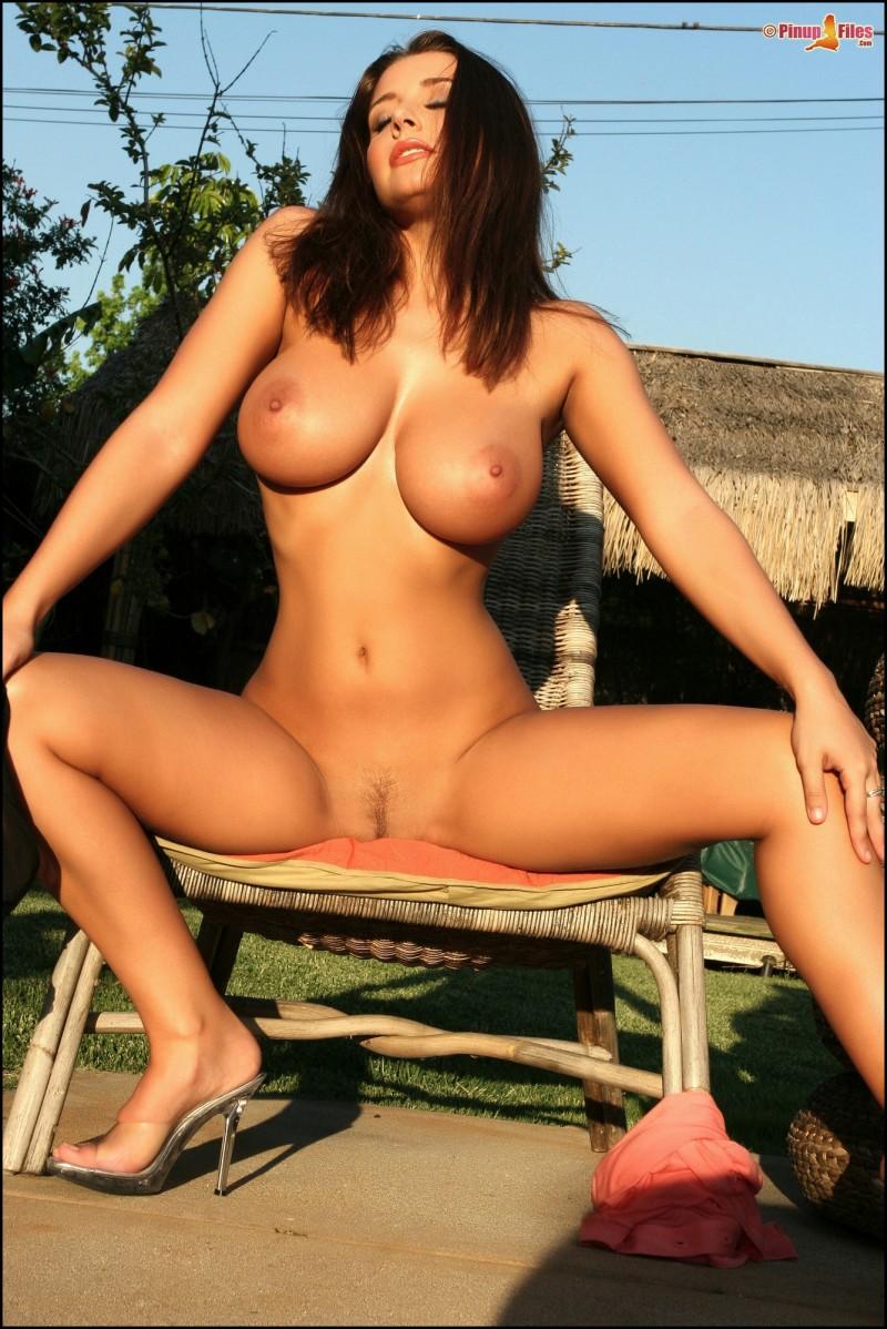 erica-campbell-boobs-nude-garden-pinup-files-22