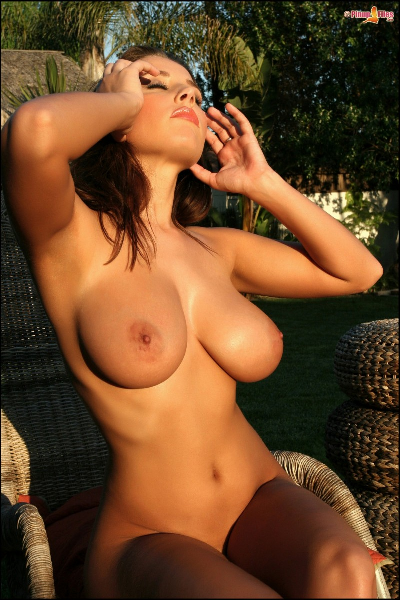 erica-campbell-boobs-nude-garden-pinup-files-38
