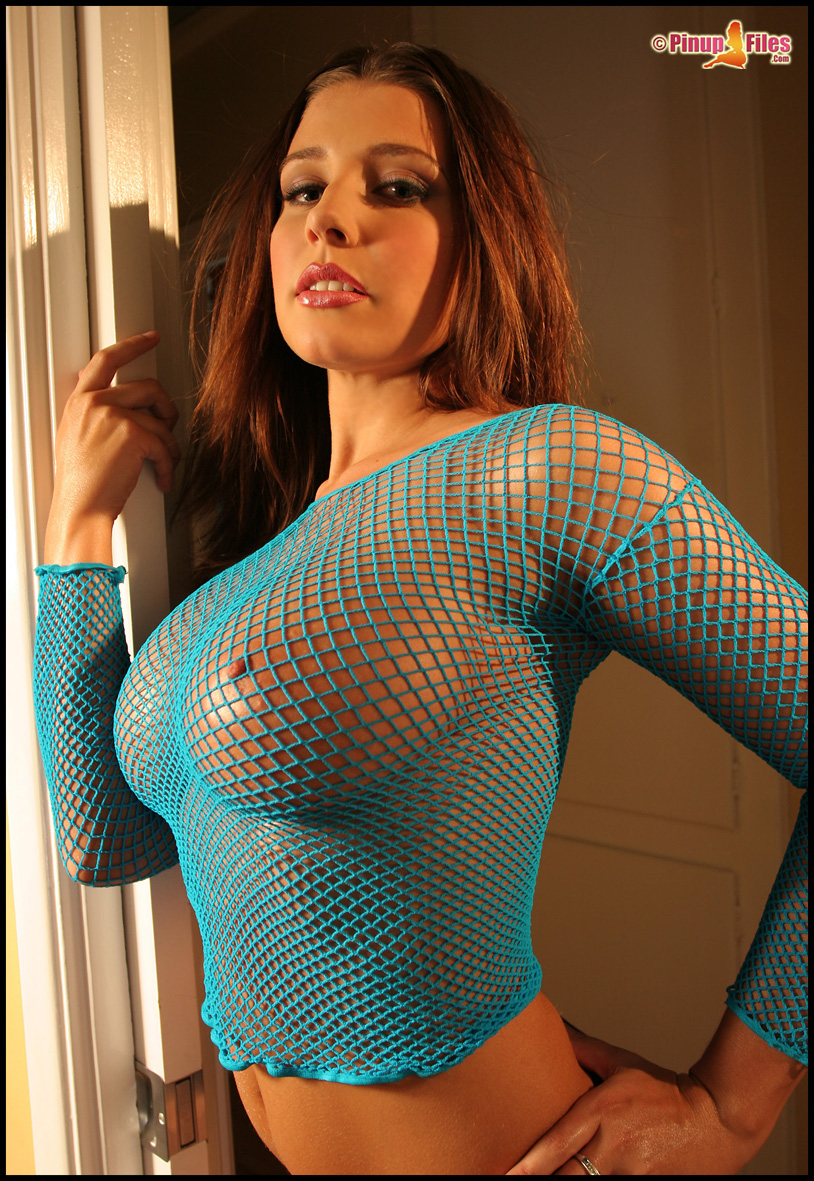 erica-campbell-boobs-naked-blue-fishnet-pinupfiles-07