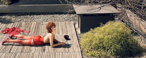 Eva Mendes by Steven Meisel