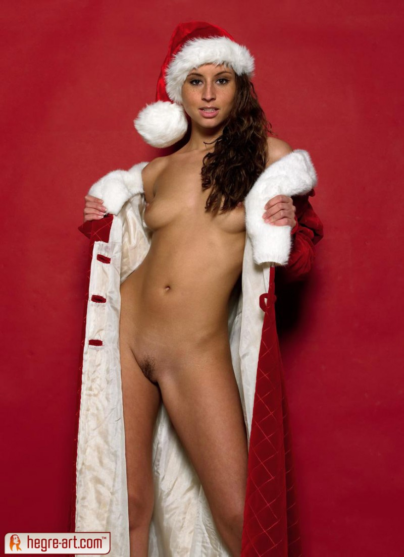 Sexy santa helper nude