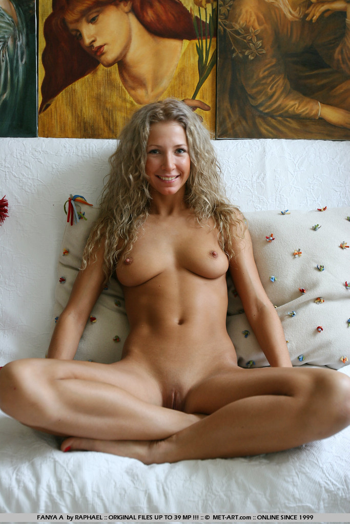from Landry naked fit blonde women