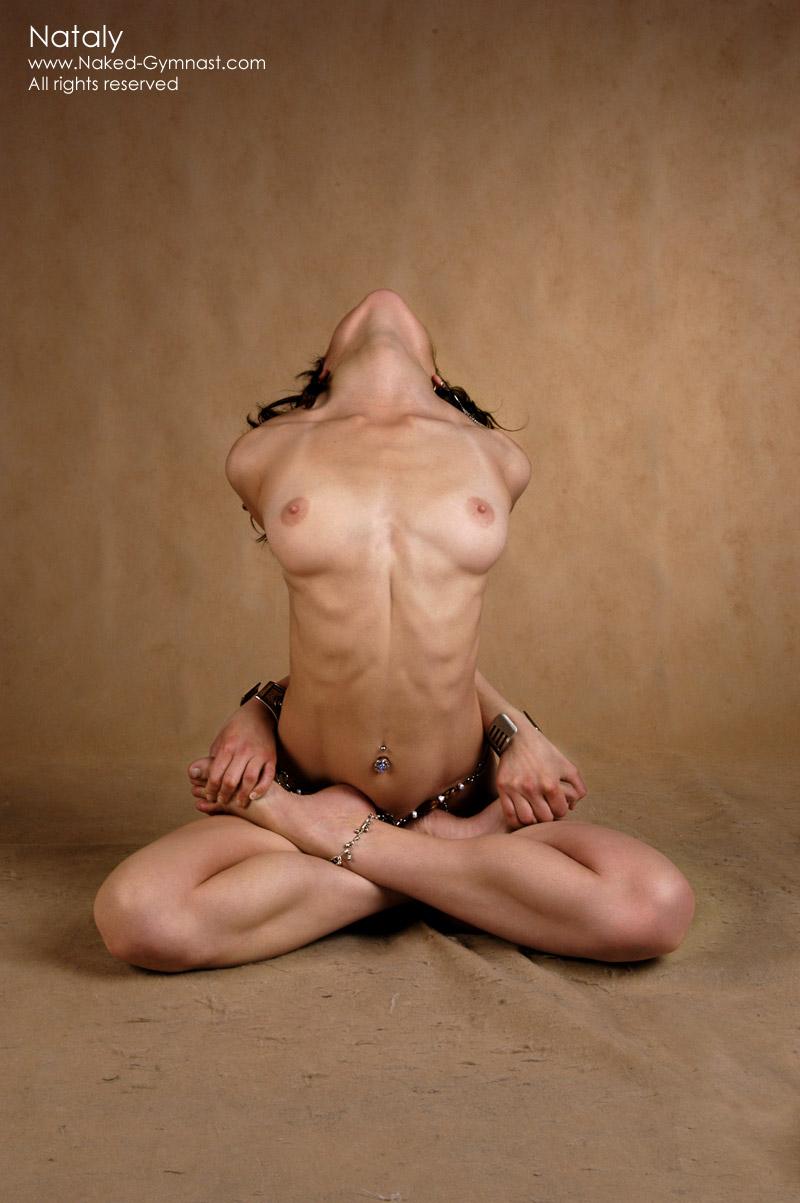 nude gymnast Flexible