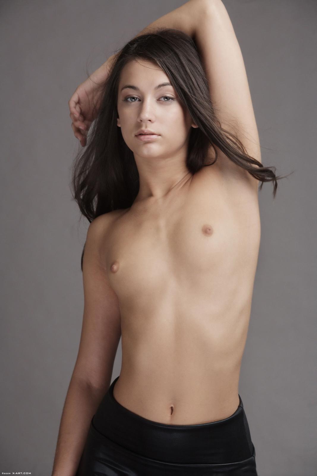 georgia-jones-black-mini-skirt-naked-xart-09