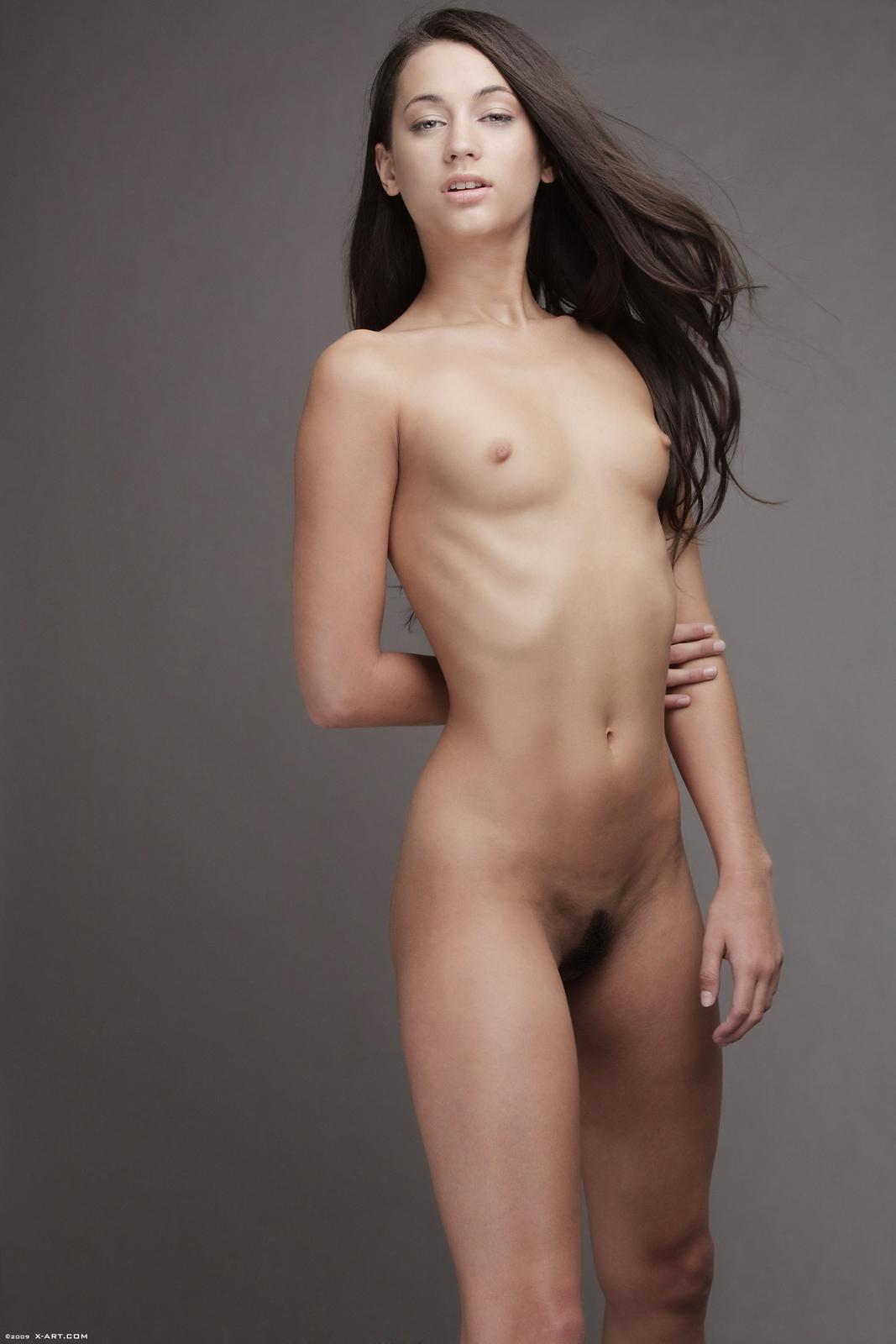 georgia-jones-black-mini-skirt-naked-xart-18