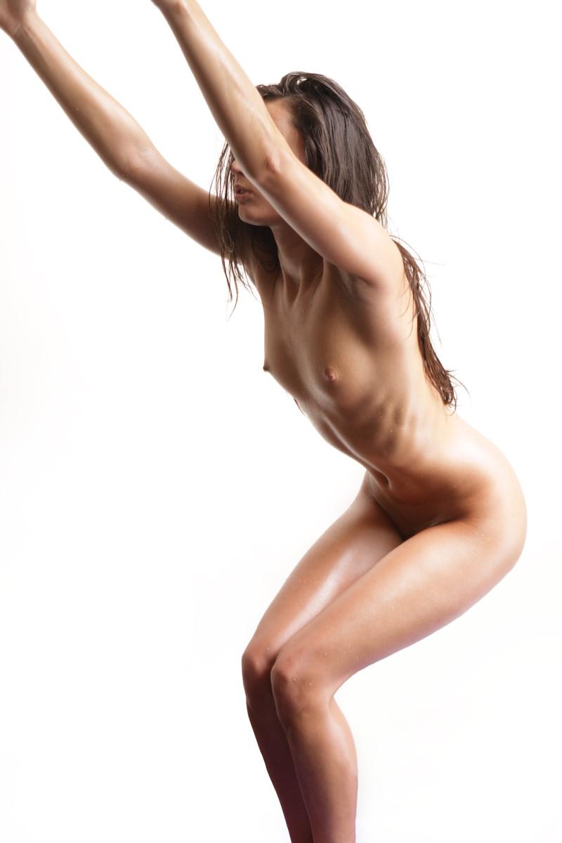 Nude yoga georgia jones